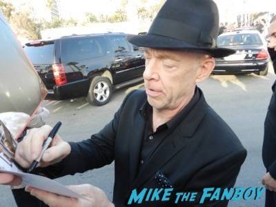 J.K. Simmons signing autographs spirit awards 2015 signing autographs 60