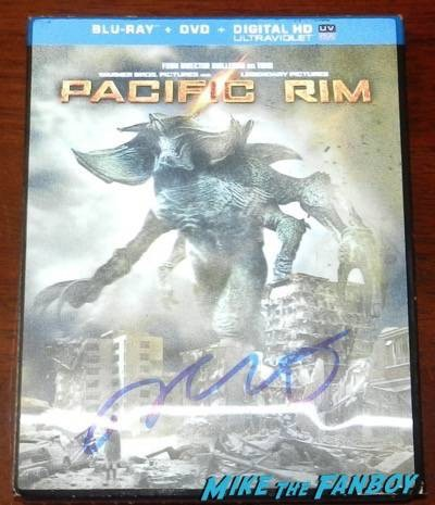 pacific rim signed blu ray