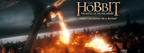 the hobbit the battle of the five armies on blu ray contest giveaway