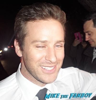 Armie hammer fan photo flop signing autographs 3
