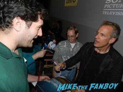 patrick fabian signing autographs Better Call Saul FYC Q and A Bob Odenkirk Michael McKean 25