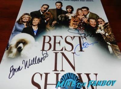 best in show signed autograph poster michael mckean
