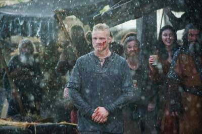vikings Bjorn, played by Alexander Ludwig