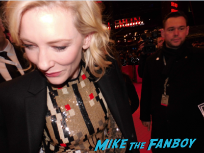 Cate Blanchett signing autographs Cinderella berlin film festival premiere cate blanchett 3
