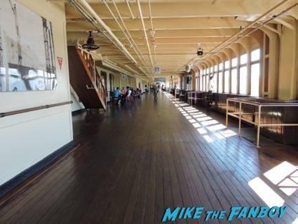 Corridor on the Queen Mary