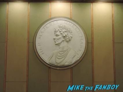 A Relief of Queen Mary on The Queen Mary