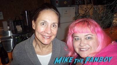 Laurie Metcalf fan photo selfie rare 2015 big bang theory 1