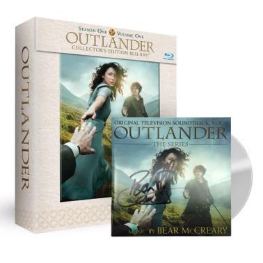 Outlander 1A DVD signed OST