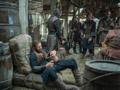 vikings Rollo, played by Clive Standen