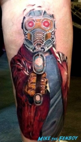 Star Lord Tattoo Guardians Of The Galaxy 3
