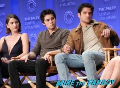 Teen Wolf Paleyfest 2015 panel signed tyler posey holland roden 20