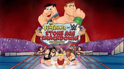 The Flintstones & WWE Stone Age Smackdown coloring sheet poster 3