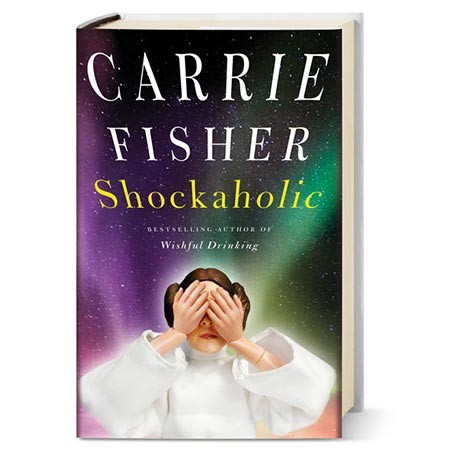 carrie fisher signed book