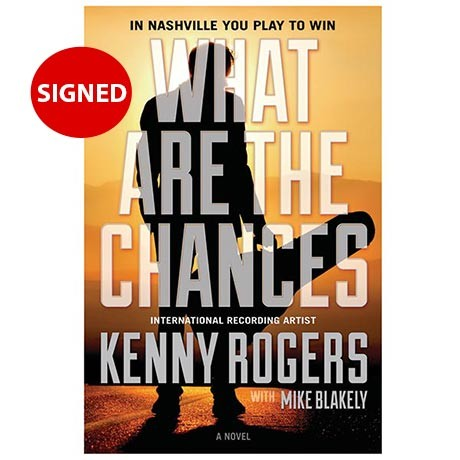 kenny rogers signed book