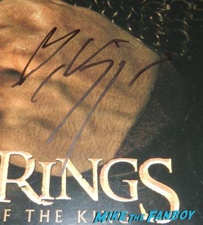 Viggo Mortensen signing autographs q and a 2015 9