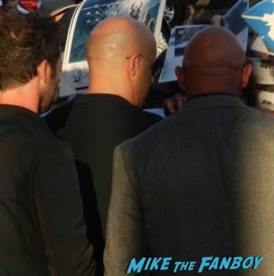 Vin Diesel signing autographs jimmy kimmel live 2015 1