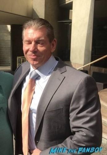 Vince McMahon photo flop fan photo rare 3