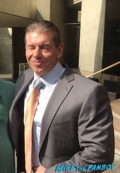 Vince McMahon photo flop fan photo rare 3