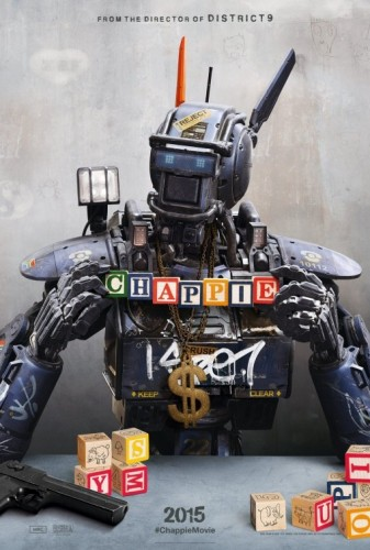 chappie movie poster