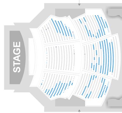 Dolby Theater Seating Chart Paleyfest Png 400x370 Theatre Hollywood