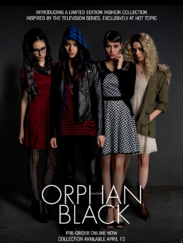 hot topic orphan black