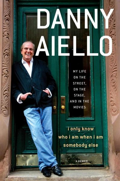 danny aiello signed book cover rare