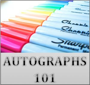 AUtographs 101 pen tip of the week