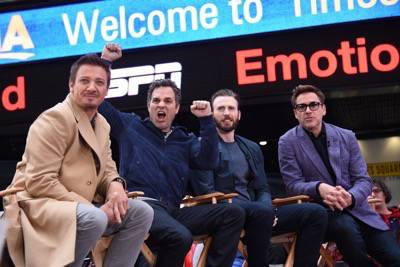 Marvel's Avengers: Age Of Ultron Takeover Times Square On Good Morning America