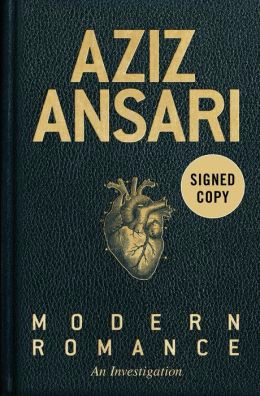 aziz ansari signed book