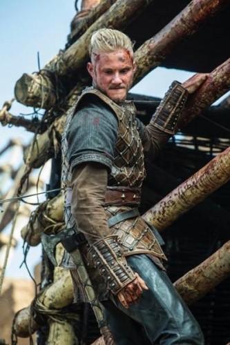 Bjorn (Alexander Ludwig) hot vikings season 3 to the gates