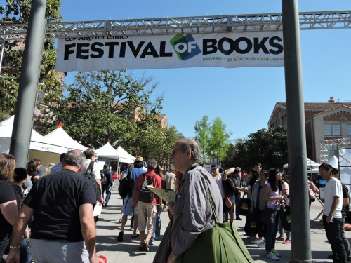 Arriving Day 1: L.A. Festival Of Books