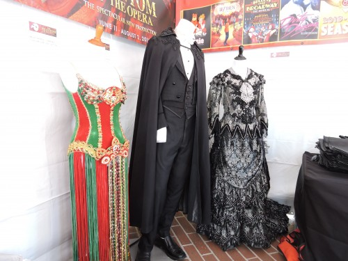 "Pantages Theatre Exhibit: Actual Costumes from ""Phantom of the Opera"""