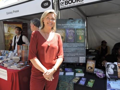 "April White author of ""The Immortal Descendants"""
