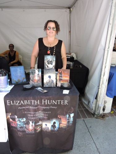 "Elizabeth Hunter author of ""Elemental Mysteries"" + more"