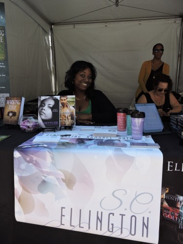 "S.C. Ellington author of ""Unsettled"""