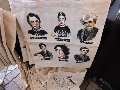 Awesome tote bag of bad*ss authors