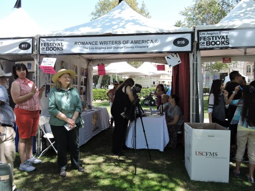 Romance Writers of America Booth at the Festival