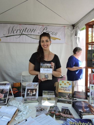 "Rachel Berman author of ""Aerendgast"" at Meryton Press"