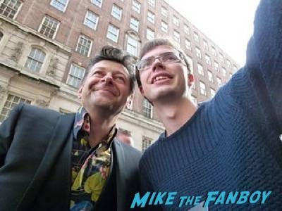 andy serkis Empire Awards Red Carpet Signing autographs henry Cavill simon pegg 89