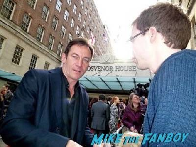 Jason Isaacs Empire Awards Red Carpet Signing autographs henry Cavill simon pegg 28