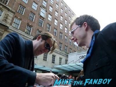 Jonathan ross Empire Awards Red Carpet Signing autographs henry Cavill simon pegg 64