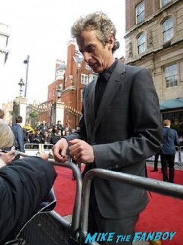 Peter Capaldi Empire Awards Red Carpet Signing autographs henry Cavill simon pegg 41  Empire Awards Red Carpet Signing autographs henry Cavill simon pegg 73
