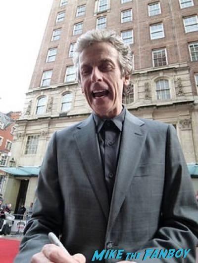 Peter Capaldi Empire Awards Red Carpet Signing autographs henry Cavill simon pegg 41 Empire Awards Red Carpet Signing autographs henry Cavill simon pegg 73