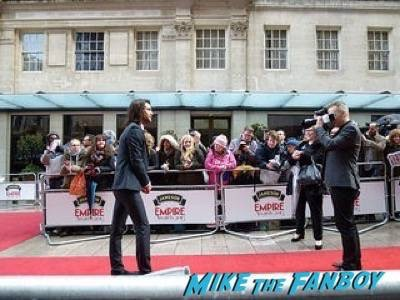 Luke Pasqualino Empire Awards Red Carpet Signing autographs henry Cavill simon pegg 61