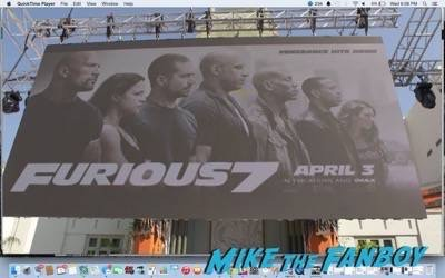 Furious 7 world premiere los angeles vin diesel 1
