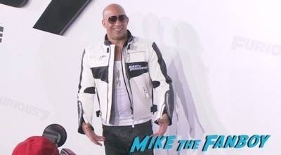 Furious 7 world premiere los angeles vin diesel 12