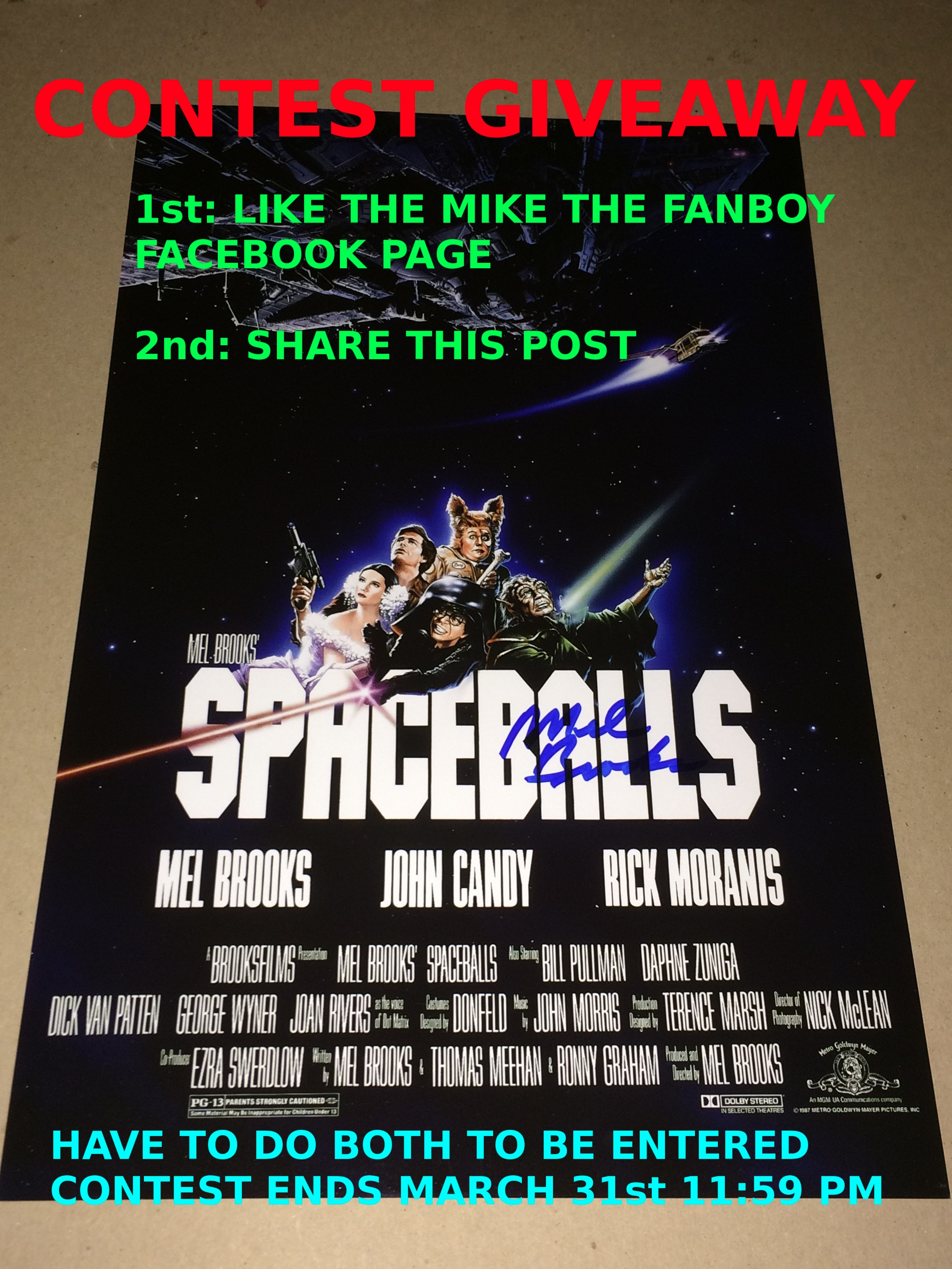 spaceballs contest