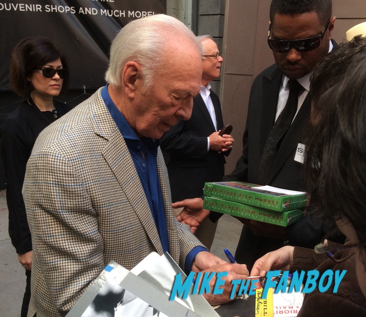 Christopher Plummer S Hand Footprint Ceremony MacLaine
