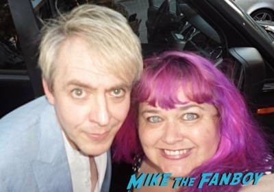 Nick Rhodes Signing Autographs 2015 fan photo duran duran 2