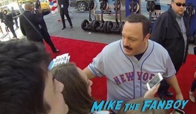 Paul Blart mall cop 2 movie premiere kevin james signing autographs 1